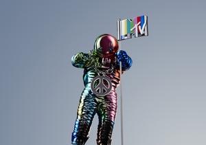 MTV Unveils 2015's VMA Moonman by Designer Jeremy Scott
