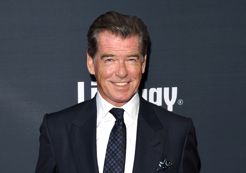 Pierce Brosnan Explains Why He Was Carrying Knife in Vermont Airport