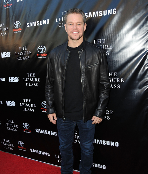 Matt Damon Credits 'Incredible' Wife Luciana for Taking the Pressure Off