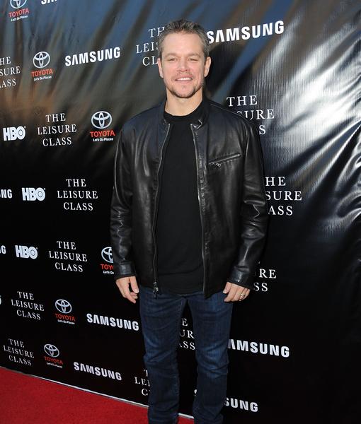 Matt Damon Credits 'Incredible' Wife Luciana for Taking the Pressure Off