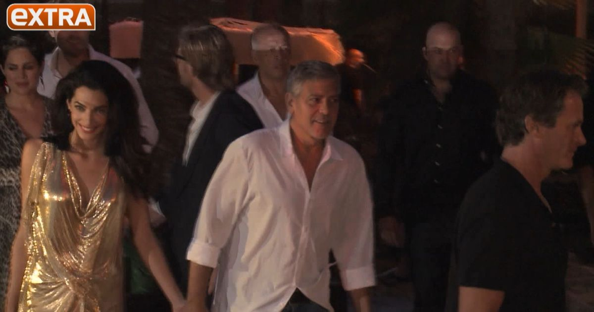 George & Amal Clooney Celebrate Casamigos Tequila Launch