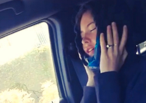 Bizarre Video! Adam Levine's Wife Behati Prinsloo Sings 'Can't Feel My Face' After Surgery
