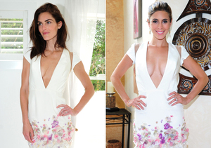 Fashion Twins! Hilary Rhoda and Jamie-Lynn Sigler Rock Matching Dresses