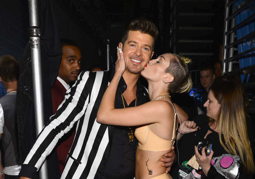 cyrus robin thicke Miley