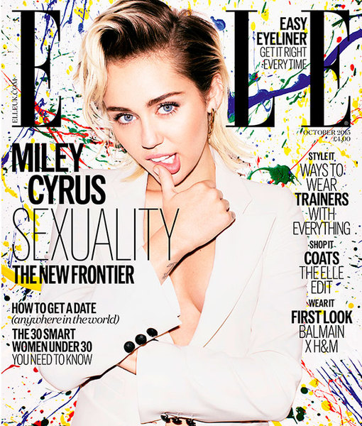 Miley Cyrus Comes out as 'Pansexual'