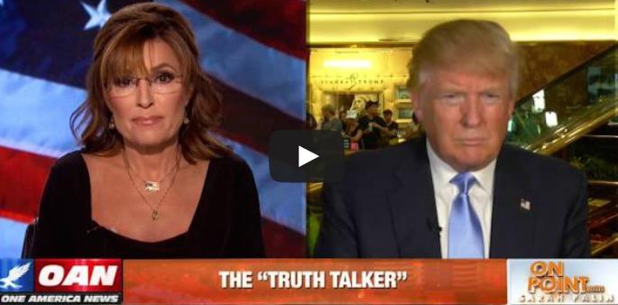 Gotcha Where She Wants Ya: Sarah Palin Interviews Donald Trump