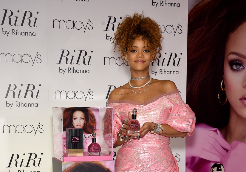 Rihanna Celebrates Her New RiRi Perfume, Calls Kanye's VMAs Speech 'Incredible'