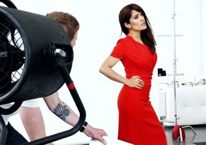 Video! Behind the Scenes at Salma Hayek's Latina Cover Shoot