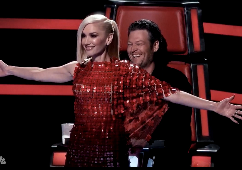 Blake from the voice dating gwen stefani