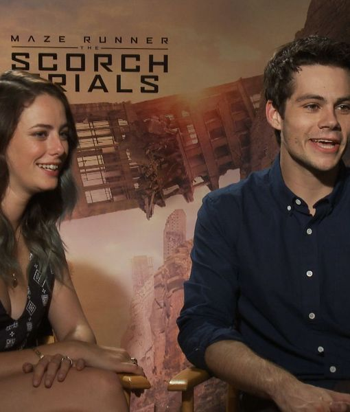 Dylan O'Brien & Kaya Scoderlario Dish on 'Maze Runner: The Scorch Trails'