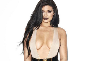 Kylie Jenner's Extreme Cleavage Show for Galore