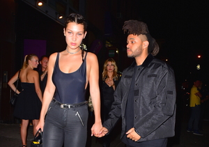 New Couple Alert! The Weeknd & Bella Hadid Hold Hands
