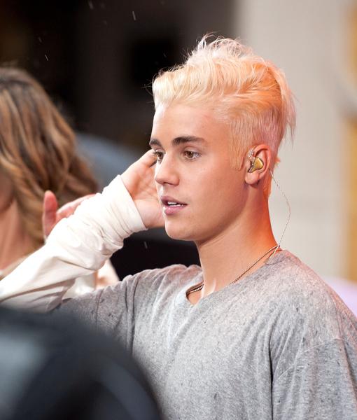 Bleach Blonde Bieber Busts Billboard Extratv