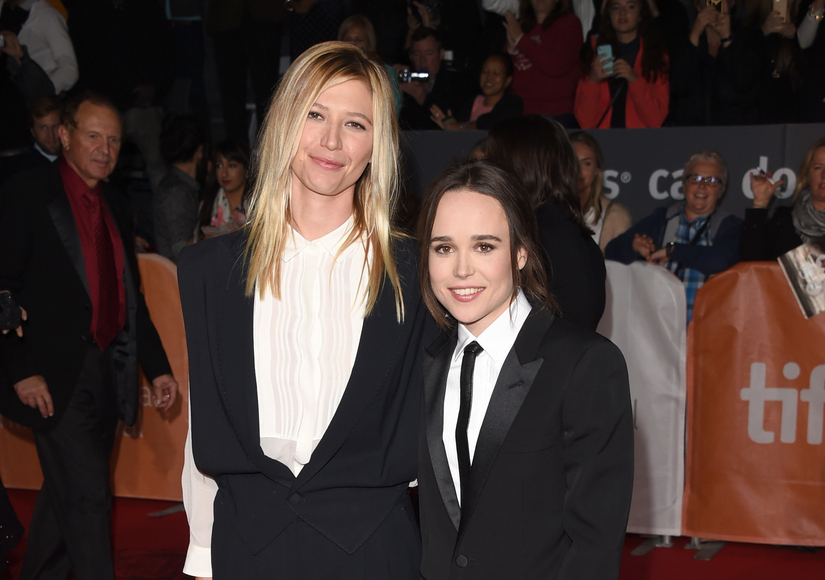 Ellen Page Says She's 'In Love,' Makes Red Carpet Debut with GF Samantha Thomas