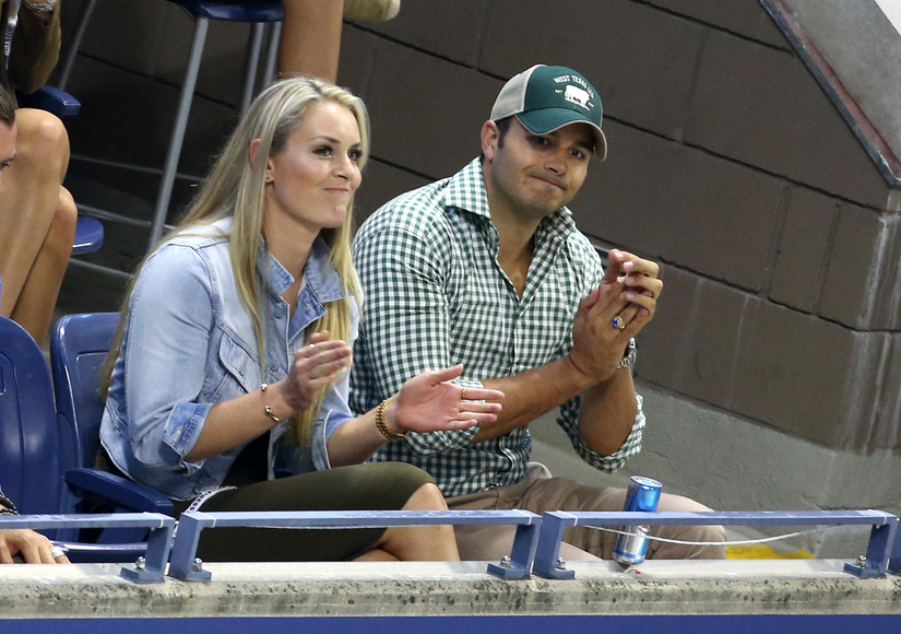 Lindsey vonn dating tiger