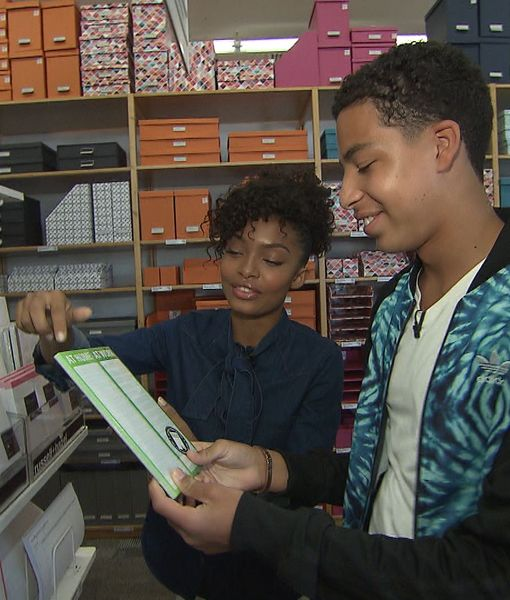 Go Back to School with Rising Stars Yara Shahidi and Marcus Scribner