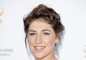 Mayim Bialik Visited Her Father's Grave Before Hitting the Emmys Red Carpet