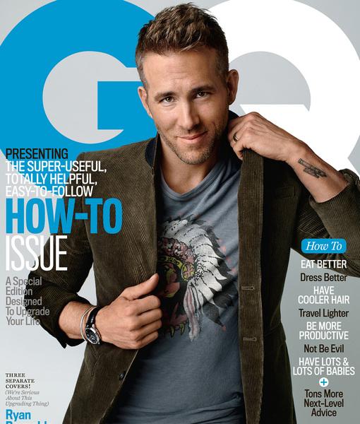 Ryan Reynolds Cover