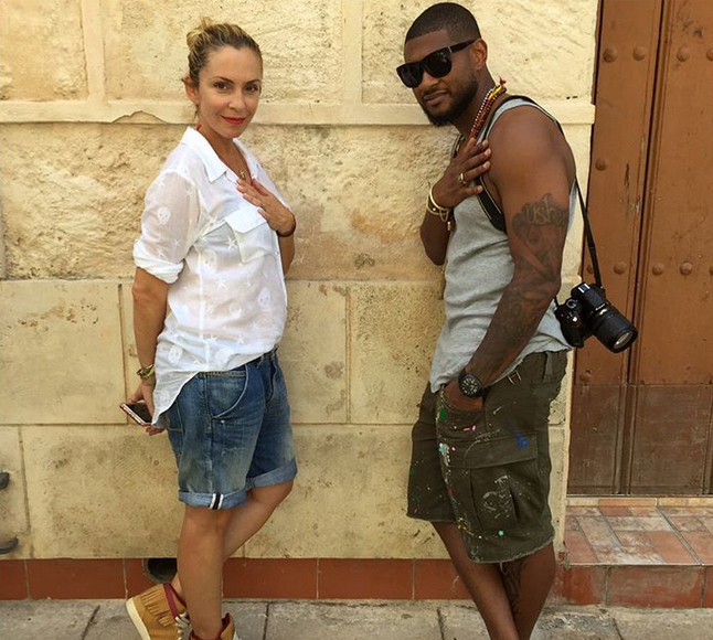 Surprise Wedding! Usher Reportedly Elopes with Longtime Girlfriend