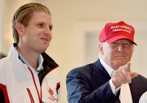 Eric Trump Says His Dad Can Take Jabs and Jokes with No Problem
