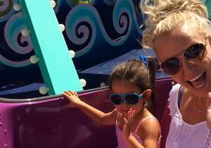 Britney Spears Shares Sunday Funday Family Pics from Universal!