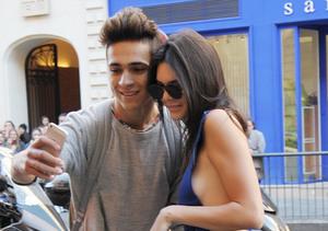 Paris Fashion Week Alert! Kendall Jenner Flashes Major Side Boob