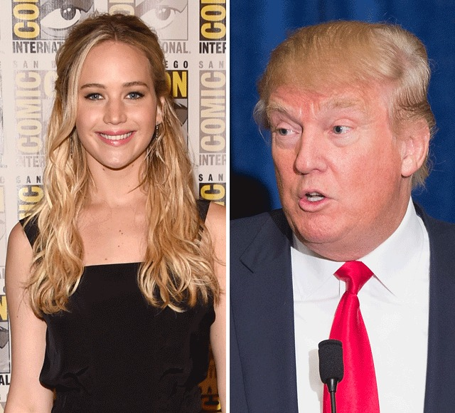 Jennifer Lawrence Says Trump Presidency Would Be 'End of the World'