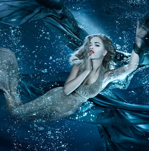 Sexy Siren! See Rita Ora's Mermaid Photo Shoot
