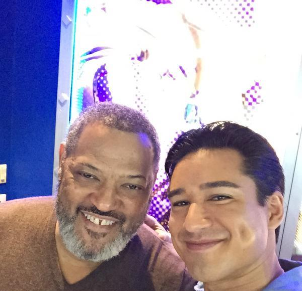 Laurence Fishburne Reveals Unexpected Nickname for His Motorcycle