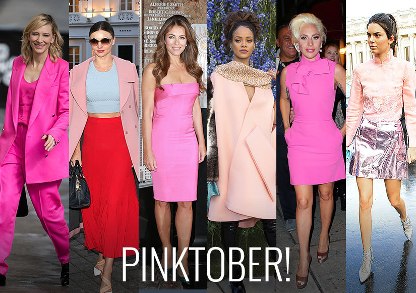 Breast Cancer Awareness Month: Hollywood's Most Stylish Stars Are Dressing to Pink Perfection!