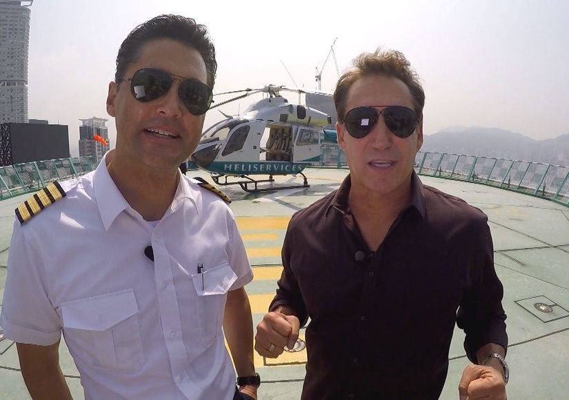 Mansions and Millionaires: Enjoy Hong Kong by Air