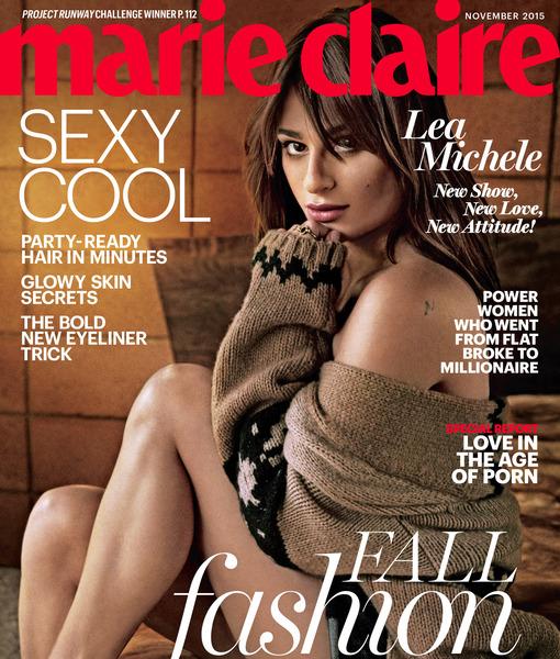 So Confident! Lea Michele Calls Her Butt a 'Showstopper'