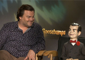 Jack Black Talks 'Goosebumps,' Advises Us Not to Call Slappy a Dummy