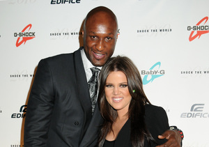 Lamar Odom Airlifted to L.A.Hospital, Khloé Kardashian Still by His Side