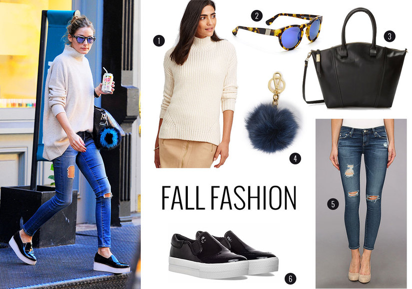 Steal Olivia Palermo's Cozy Fall Look