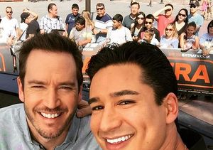 Mario Lopez & Mark-Paul Gosselaar Remember Their Days on 'Saved by the Bell'