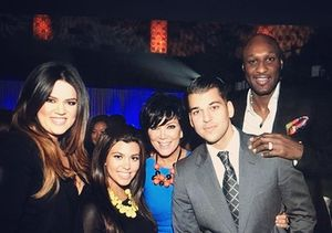 The Kardashians React to Lamar Odom's Progress