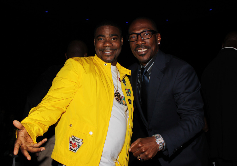 Eddie Murphy Made Tracy Morgan Laugh After He Woke Up from His Coma Last Year