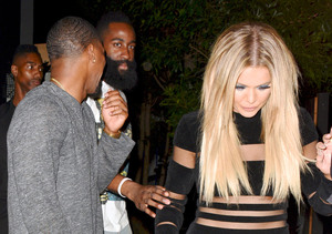 Khloé Kardashian Leaves Lamar Odom's Side to Visit James Harden in Houston