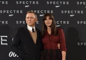 Bond & His Lady Invade Rome