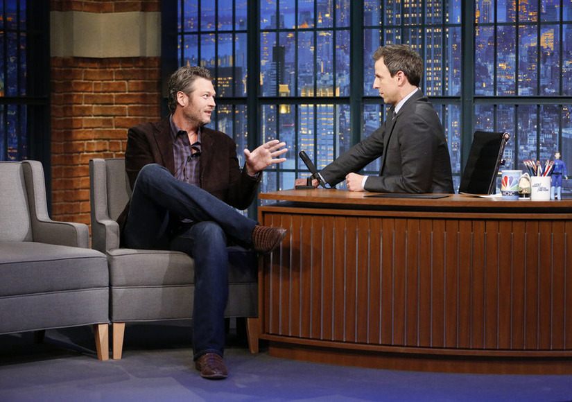 Blake Shelton Is Ready For 'Awkward' Jokes About His Miranda Lambert Split at CMAs