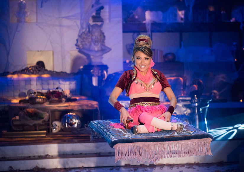 We Dream of Jeannie: First Look at 'The Real's' Jeannie Mai as Barbara Eden