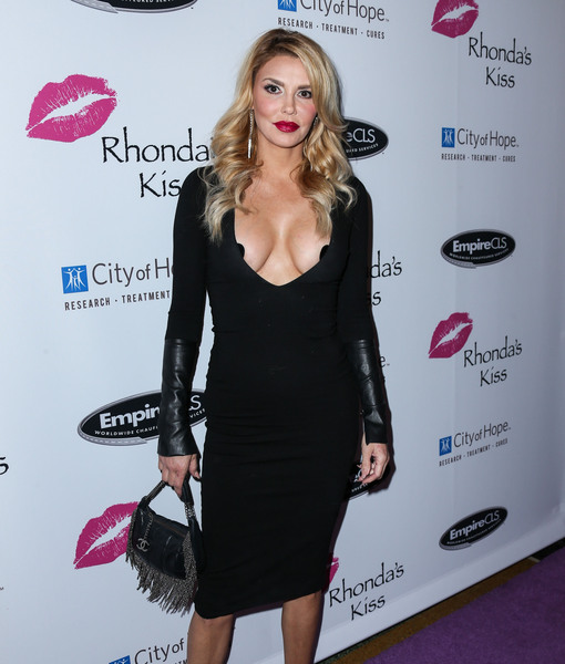 Overexposed! Brandi Glanville Wears Black Pasties Because 'Girls Keep Coming Out'