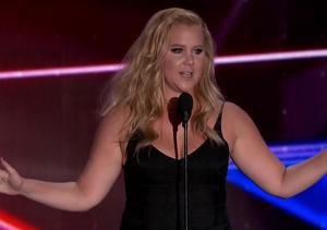 Amy Schumer Has Had Enough of Ricky Gervais – Watch Funny Britannia Awards…