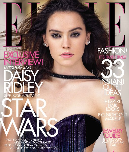 Daisy Ridley Is Elle's New It Girl