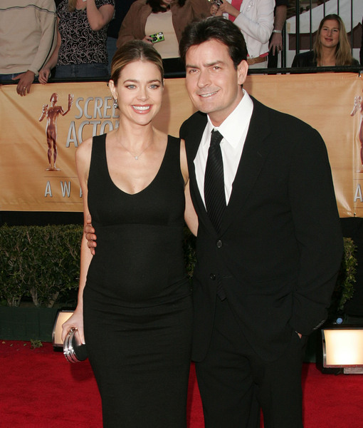 Denise Richards and Daughters Not Affected by Charlie Sheen's Reported HIV…
