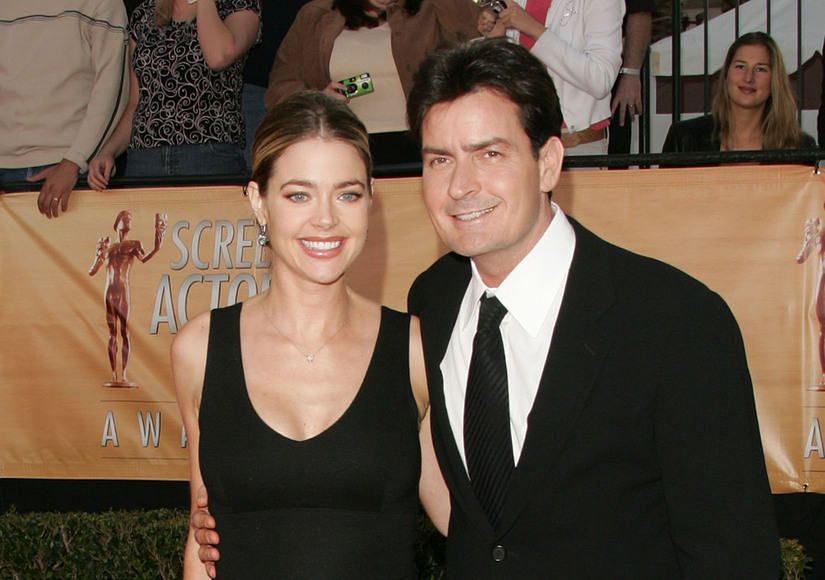 Denise Richards and Daughters Not Affected by Charlie Sheen's Reported HIV Diagnosis