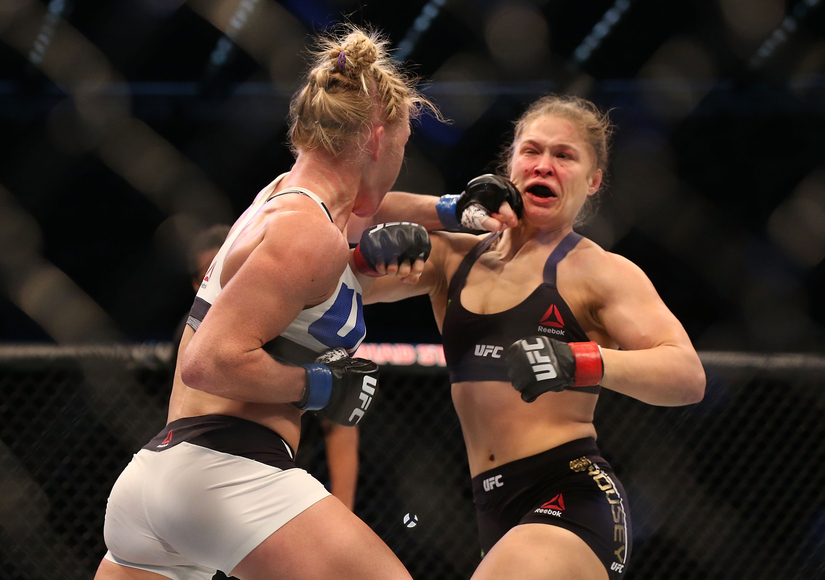 Ronda Rousey Loses UFC Match Against Holly Holm — See Celeb Reactions!