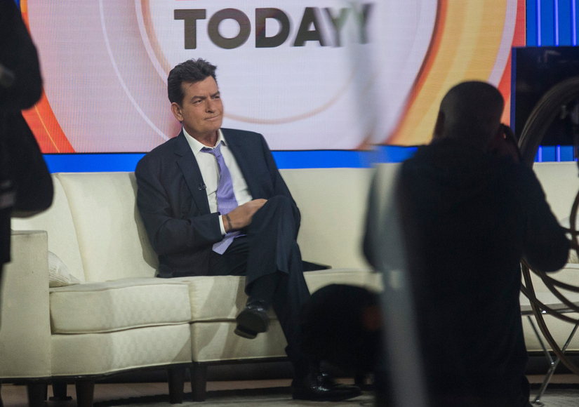 Watch Charlie Sheen Come Out as HIV Positive on 'Today'