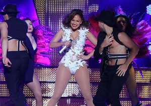 Jennifer Lopez Teases American Music Awards Hosting Gig – Watch!